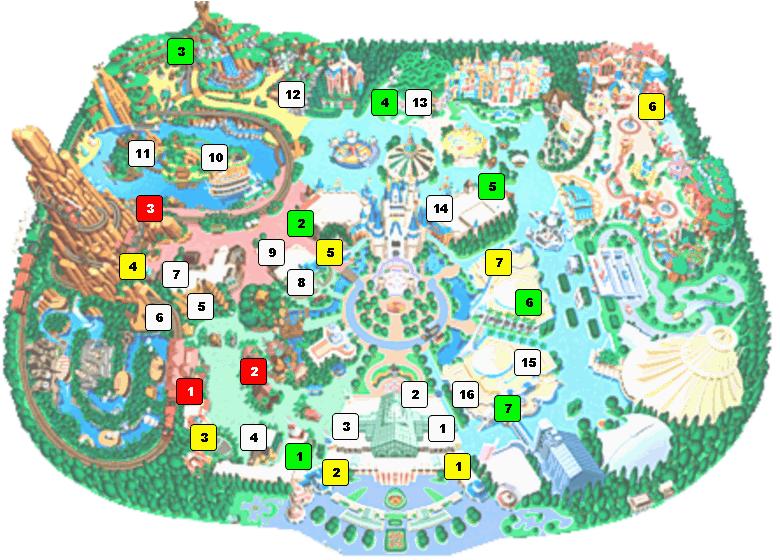 ディズニーシー 地図 わかりやすい