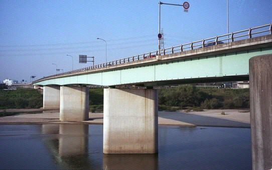 矢作川の橋<下流>